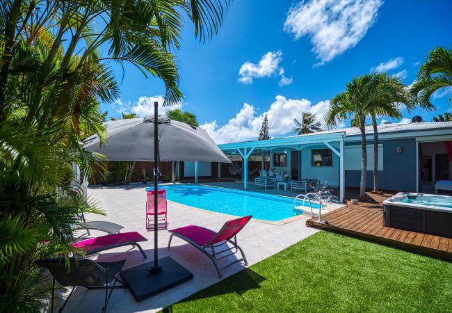 Villa à Le Gosier - Aline, villa avec piscine et jacuzzi