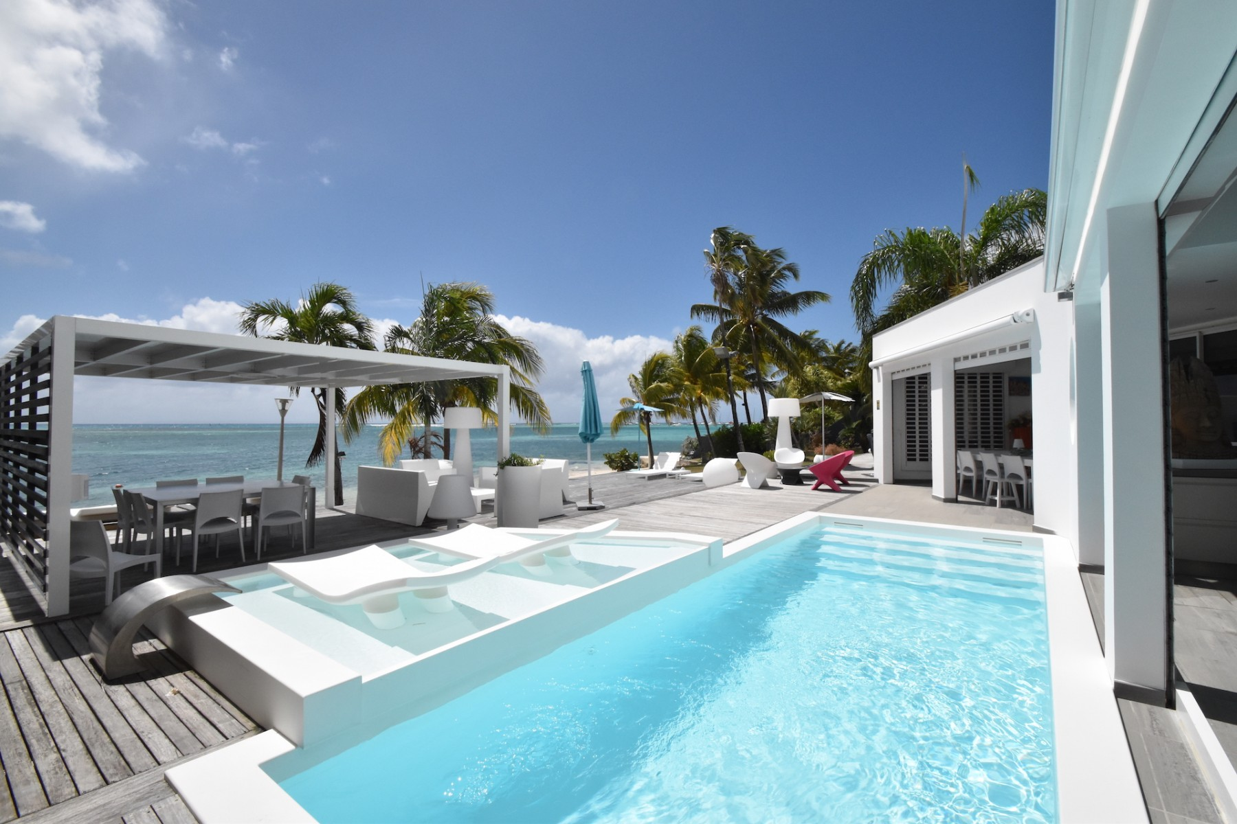 Villa Water Dream Guadeloupe 5 Br Luxury Villa Rental In