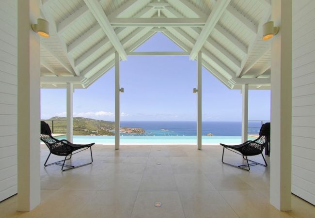 Villa in Saint Barthélemy - The View