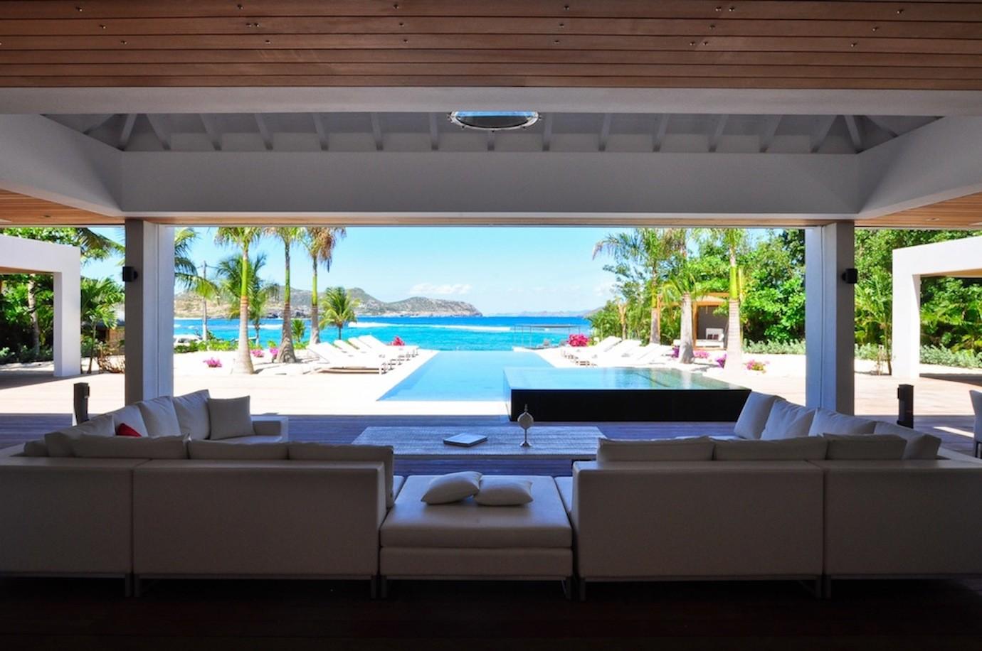 Villa In Saint Barthélemy Palm Beach